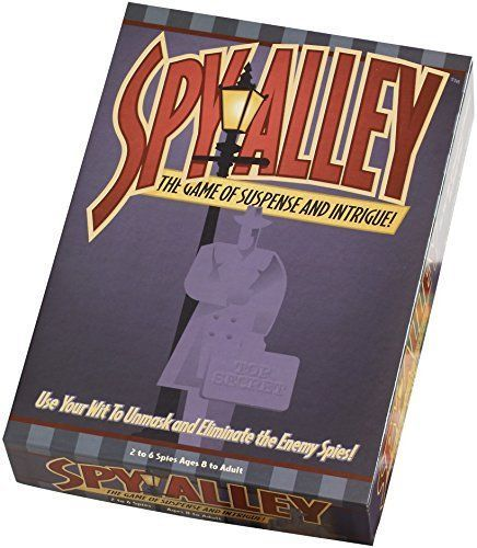 Spy Alley Board Game [New] Suspense & Intrigue Family Game
