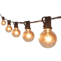 Globe String Lights G40 UL Listed Patio Lights for Indoor Outdoor Commer... - €23,96 EUR
