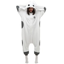 Adults' Kigurumi Pajamas White Max Onesie Pajamas Polyester Cosplay For ... - $3.99+