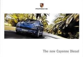 2013 Porsche CAYENNE DIESEL sales brochure catalog US 13 - $12.00
