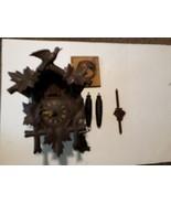 German Black Forest Hubert Herr Triberg Germany Cuckoo Clock Non Working... - $44.50