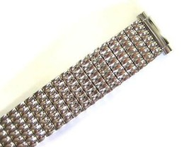 SPEIDEL 10-14MM EXTRA LONG SILVER STAINLESS STEEL EXPANSION WATCH BAND S... - $26.25 CAD