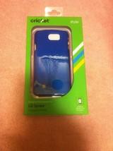 Cricket Cell Phone CASE--LG SPREE--ALGF5066--BLUE----FREE SHIP---NEW - $17.21