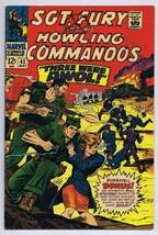 Sgt Fury and His Howling Commandos #42 ORIGINAL Vintage 1967 Marvel Comics - $14.84