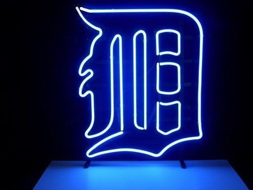 "New Detroit Tigers Man Cave MLB Beer Bar Neon Sign 24""x20"" Ship From USA"