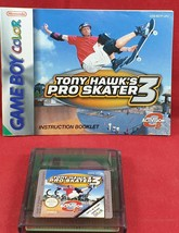 Tony Hawk's Pro Skater 3 Cartridge and Manual Only Nintendo Game Boy Col... - $11.13