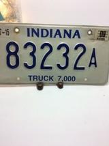 Vintage Indiana License Plate -  - Single Plate 2008 image 2