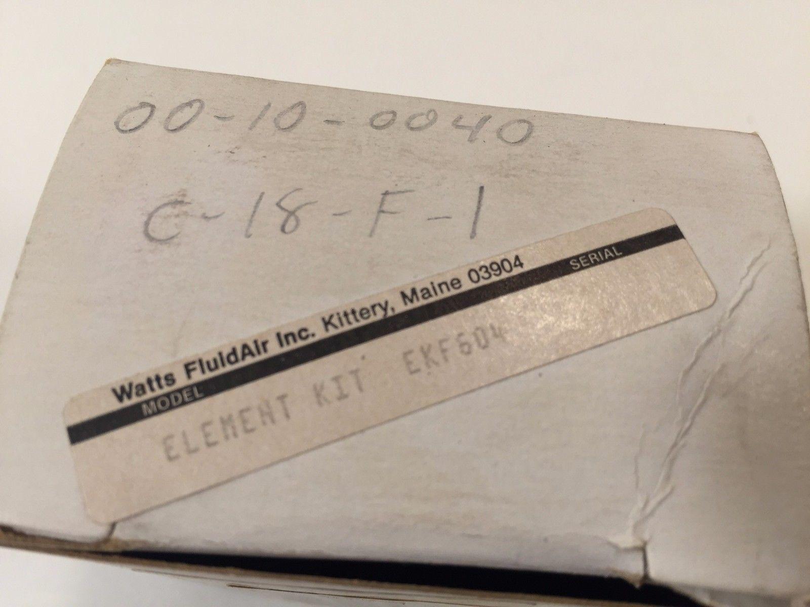 Parker Watts EKF604 Filter Element EKF-604