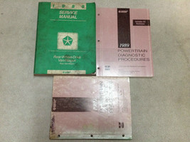 1989 DODGE RAM VAN WAGON RWD Service Repair Shop Manual RWD OEM FACTORY ... - $29.65