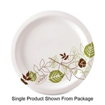 """Dixie Foods Plates, Extra Heavy Weight, 10"""""""", 125.PK, Pathways/White - $50.99"""