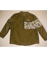 N.O. Saints NFL NFC Salute USA Military Green Pullover Half Zipper Jacke... - $59.39