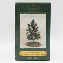 Hallmark Ornament Christmas Tree With Decorations Set Of 8 NOS 2002 - $24.74