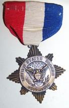 1918 Original Wwi Us Army Service Medal Salina Kansas Whitehead & Hoag - $79.19