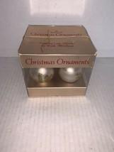 Hallmark Tree Trimmer Ornament Little Miracles Set Of 4 Glassball Ornaments 1975 - $15.00