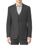 NEW MENS CALVIN KLEIN GRANITE HEATHER BLAZER JACKET SPORT COAT S - $45.70 CAD