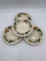 "Vernon Ware by Metlox Vineyard Fruit Bowls 6"" Set of 4 - $21.73"