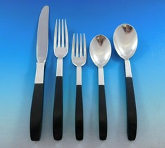 Contrast by Lunt Sterling Silver Flatware Set Service Mid Century Modern 60 pcs - $5,692.50