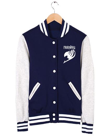 dc4d2855568b Fairy Tail baseball uniform Jacket Sport and 34 similar items
