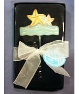 Beach Starfish Wine Bottle Opener Blue Ocean Waves Decorative Corkscrew ... - $3.99