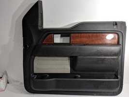 09-14 Ford F150 Passengerright Door Trim Panel Oem Black - $170.99