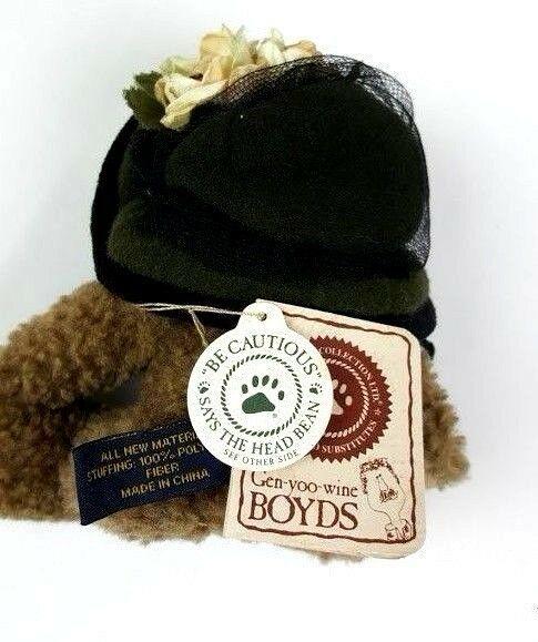 Boyd's Bears Monique Labearsley Plush TJ's Best Dressed Stuffed Bear Toy