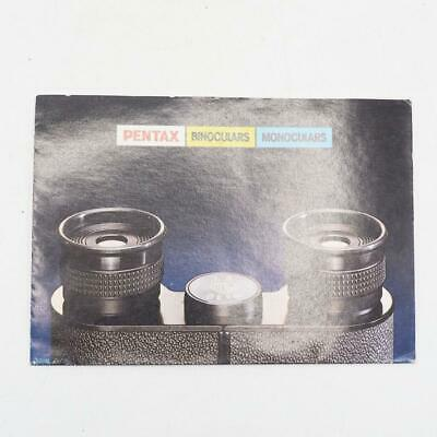 Primary image for Vintage Pentax Monocular Binoculars Product Guide Booklet