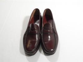 Dexter Burgundy Leather Fashion Loafers Comfort Footwear Men's Shoes USA 10.5 D - $68.40