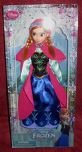 Disney Store Frozen Movie Anna. Classic Doll 12 inches tall. Brand New. - $28.59