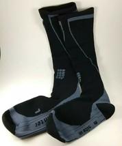 CEP Progressive+ Compression Men's Thermo Socks SIZE III Black / Grey NEW  - $39.59