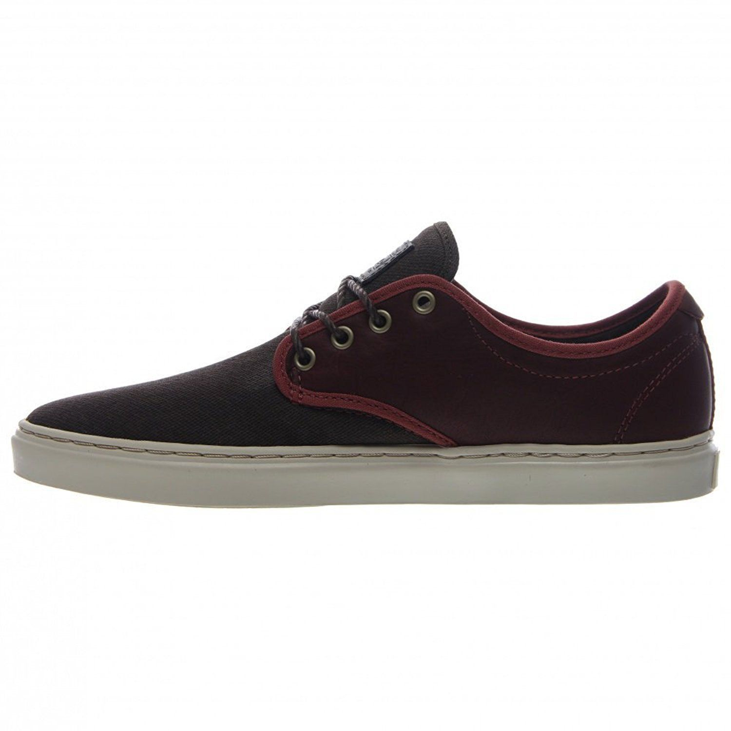 VANS OTW COLLECTION LUDLOW + LEATHER HENNA BROWN SHOES MENS SZ 7.5 BURGUNDY image 5