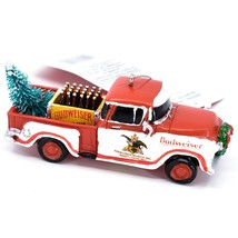 Kurt S Adler Budweiser Delivery Pickup Truck with Tree Christmas Ornament AB2201 image 2