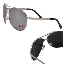 San Francisco 49ers NFL AVIATOR Mirror Sunglasses Eye Wear UV400 Lens Lo... - $9.99