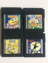 Lot of 4 Nintendo Game Boy Color: PacMan, Gex, Rugrats Movie, Gallery 3 - $14.84