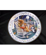 Royal Doulton fine china collector plate Moonlight Blessings Franklin Mint - $16.40