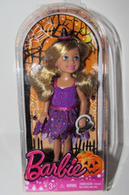 NRFB Target Barbie Sister Chelsea Halloween Doll New Blonde Witch 2014 - $9.00