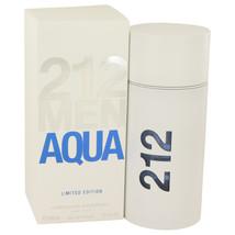 212 Aqua by Carolina Herrera Eau De Toilette  3.4 oz, Men - $70.67