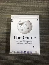 New Wikipedia The Game About Everything Table Board Game Cardinal - $9.75