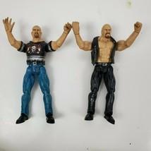 Jakks Titan Tron Stone Cold Action Figures x 2 1999 - $27.71