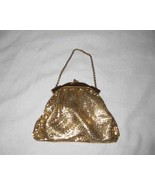 """Neat Vintage 4 1/2"""" X 6"""" Whiting And Davis Mesh Purse - $164.33"""