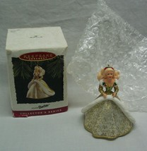"""HOLIDAY BARBIE IN GOLD DRESS 3"""" HALLMARK CHRISTMAS HOLIDAY ORNAMENT 1994 - $14.85"""