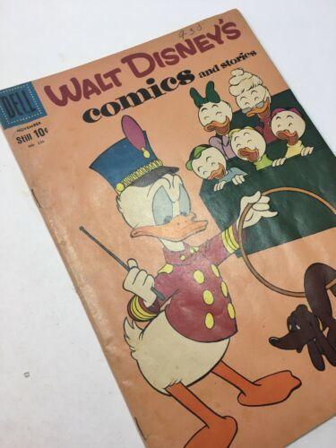 Dell, Walt Disney's, Comics & Stories, # 230, Vol. 20 No.2, Nov. 1959, Copy B image 2
