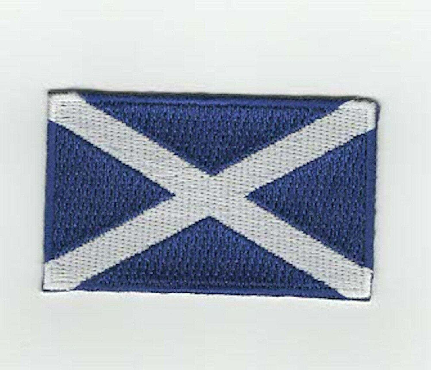scottish, scotland,saltire embroidered iron / sew on patch