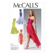 McCall Pattern Company M6838 Misses' Dress Sewing Template, Size A5 - $14.21