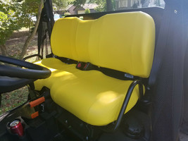 John Deere Gator Bench Seat Covers XUV 625i in YELLOW   or 45+ Colors - $99.95