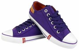 Levi's Men's Classic Premium Casual Sneakers Shoes Buck Lo Twill 514887-32L image 1