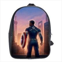 School bag captain america bookbag  3 sizes - $38.00+