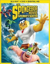 SPONGEBOB MOVIE: SPONGE OUT OF WATER [Blu-ray + DVD + Digital]