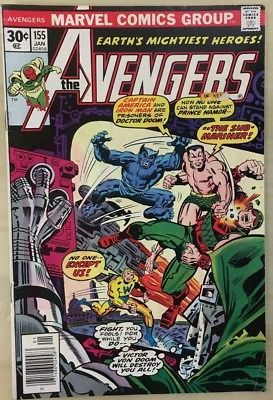 AVENGERS #155 (1977) Marvel Comics VG+