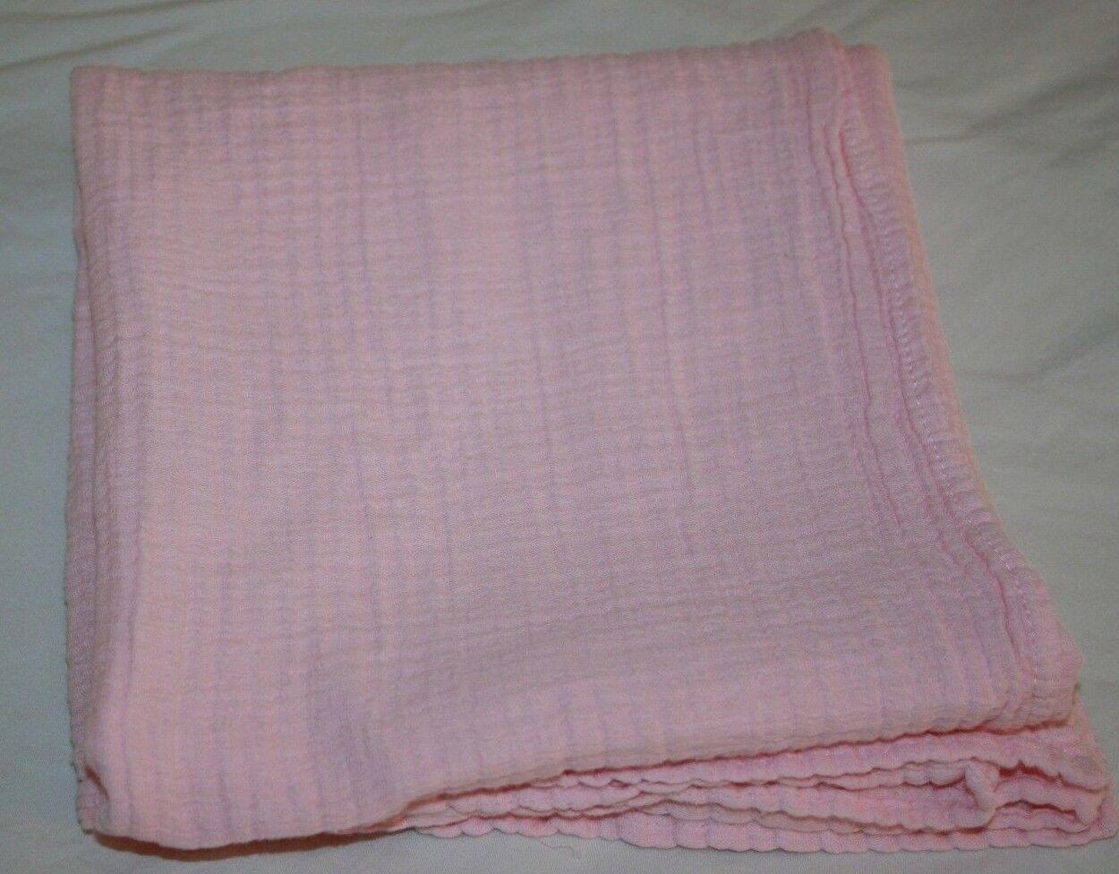 Koala Baby GIRLS Cotton Baby Receiving Blanket PINK MUSLIN Gauze Swaddling Lovey - $17.32
