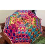 """Rare Unusual Colorful Sun Umbrella 36"""" Across - $19.79"""